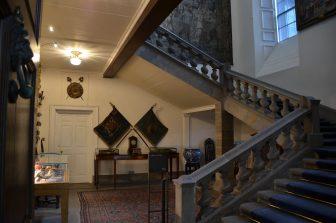 La scalinata del Palazzo di Holyroodhouse