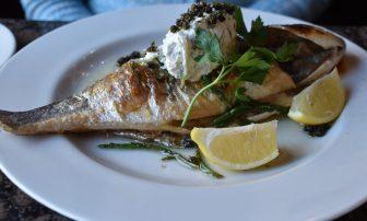 the sea bream at Fishers in Leith