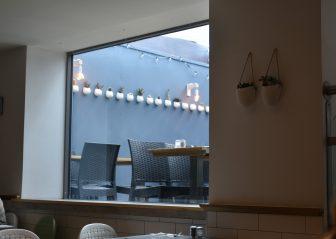 セント・アンドリュースのシーフード・レストラン、Tailend Restaurant の内装