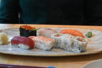 sushi at Harajuku Kitchen in Edinburgh