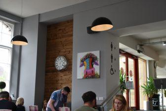 Finnegans cafe a Falkirk