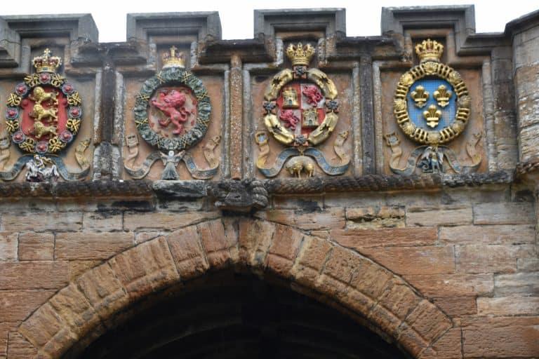 Il Palazzo di Linlithgow era chiuso..