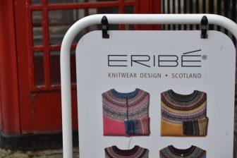 メルローズのニットウエア・ブランド、Eribéの看板