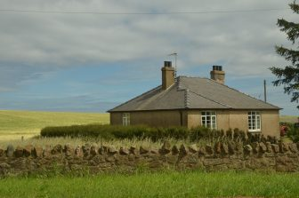 the countryside of Northumberland