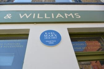 where Karl Marx stayed in Margate