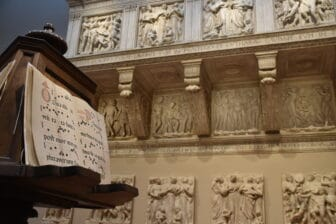 exhibition of the Choir Loft at Museo dell'Opera del Duomo