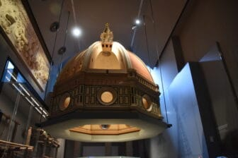 explanation on the cupola at Museo dell'Opera del Duomo
