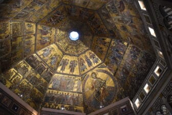 Enter the Baptistery of Duomo