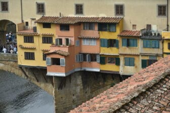 the room with the view of Ponte Vecchio